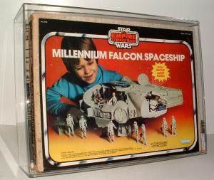 Millenium Falcon MISB AFA75